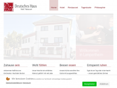 Screenshot der Domain lampertheim-hotel.de