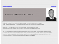 Screenshot der Domain lampl-licht.de