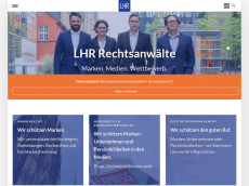 Screenshot der Domain lampmannbehn.de