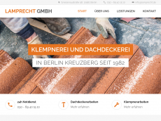 Screenshot der Domain lamprecht.de