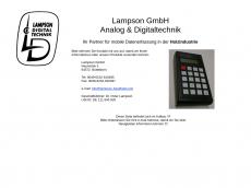 Screenshot der Domain lampson-handheld.com