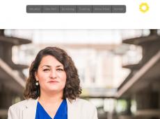 Screenshot der Domain lamya-kaddor.de
