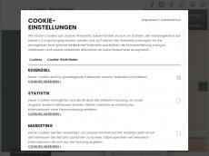 Screenshot der Domain lanfer-akademie.de