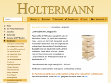 Screenshot der Domain langstrothbeute.de