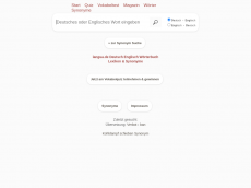 Screenshot der Domain langua.de
