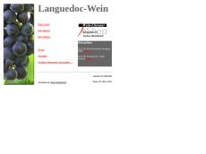Screenshot der Domain languedoc-wein.com