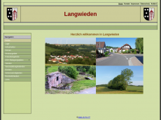 Screenshot der Domain langwieden.de