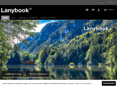 Screenshot der Domain lanibook.de