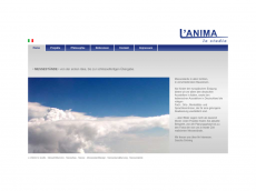 Screenshot der Domain lanima.de