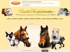 Screenshot der Domain lanis-tierportraits.de