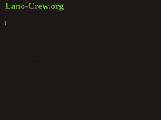 Screenshot der Domain lano-crew.org