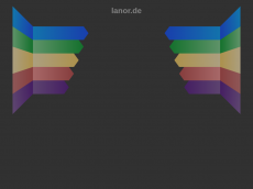 Screenshot der Domain lanor.de