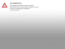 Screenshot der Domain lars-giebeler.de
