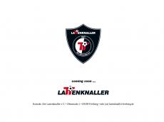 Screenshot der Domain lattenknaller-freiberg.de
