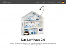 Screenshot der Domain lernhaus.de