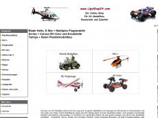 Screenshot der Domain liposhop24.de