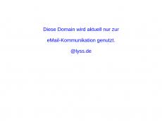 Screenshot der Domain lyss.de