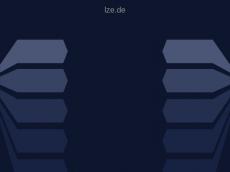 Screenshot von lze.de