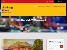 Screenshot der Domain lzgleuel.de