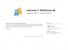Screenshot der Domain madhome.de
