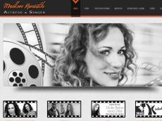Screenshot der Domain madlenkaniuth.de