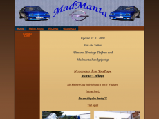 Screenshot der Domain madmanta.de