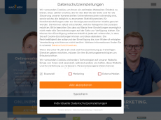 Screenshot der Domain madmen-onlinemarketing.de