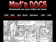 Screenshot der Domain madndocs.de