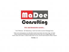 Screenshot der Domain madoe-consult.de