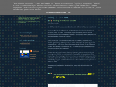 Screenshot der Domain marcelvandeneynde.blogspot.com