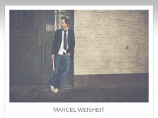 Screenshot der Domain marcelweisheit.de