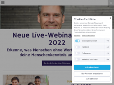 Screenshot der Domain marcgrewohl.de