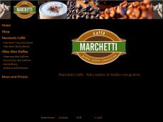 Screenshot von marchetti-caffe.de