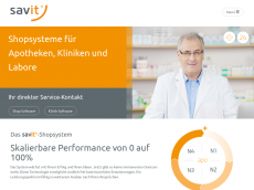 Screenshot der Domain marchevital.de