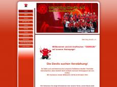 Screenshot von marchingdevils.de