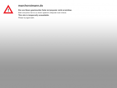 Screenshot der Domain marchorstmann.de