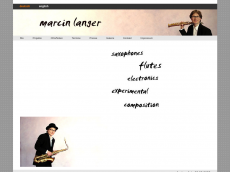 Screenshot der Domain marcinlanger.de