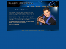Screenshot der Domain marcmartell.de