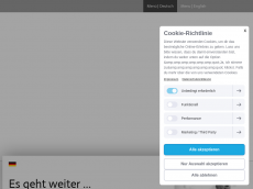 Screenshot der Domain marcmuenster.de