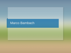 Screenshot der Domain marco-bambach.de