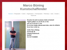 Screenshot der Domain marco-buening.de