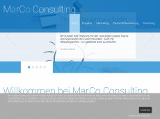 Screenshot von marco-consulting.de