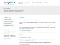 Screenshot der Domain ms-systeme.de