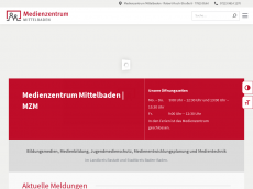 Screenshot der Domain mz-mittelbaden.de