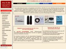 Screenshot der Domain mz-rt.de