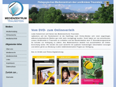 Screenshot der Domain mz-traunstein.de