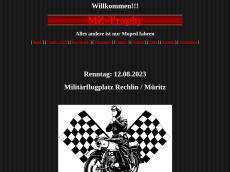 Screenshot der Domain mz-trophy.de