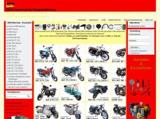 Screenshot der Domain mz-ts125.de