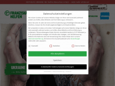 Screenshot der Domain mzf.org