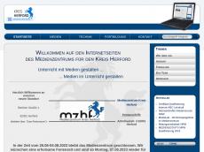 Screenshot der Domain mzhf.de